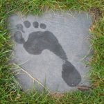 Photo of footprint